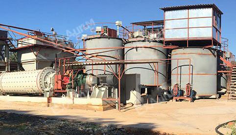 Gold Mine All Sliming Cyanidation CIL Process