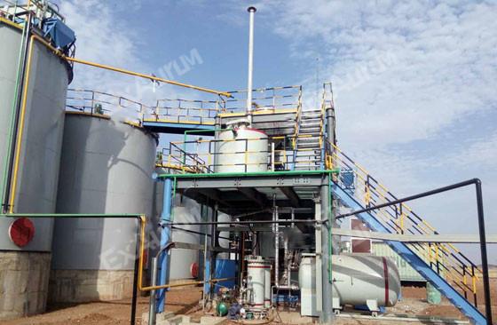 Gold Tailings CIP Plant in Asupo Bolikansai