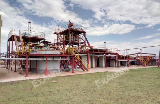 Gold Mining Plant
